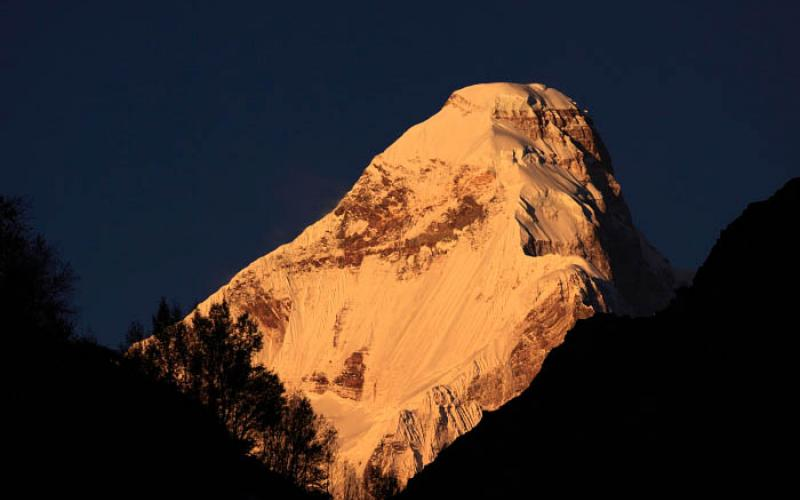 Nanda Devi from Nanda Devi East Base Camp
